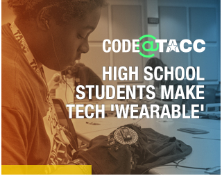 HIGH SCHOOL STUDENTS MAKE TECHNOLOGY WEARABLE