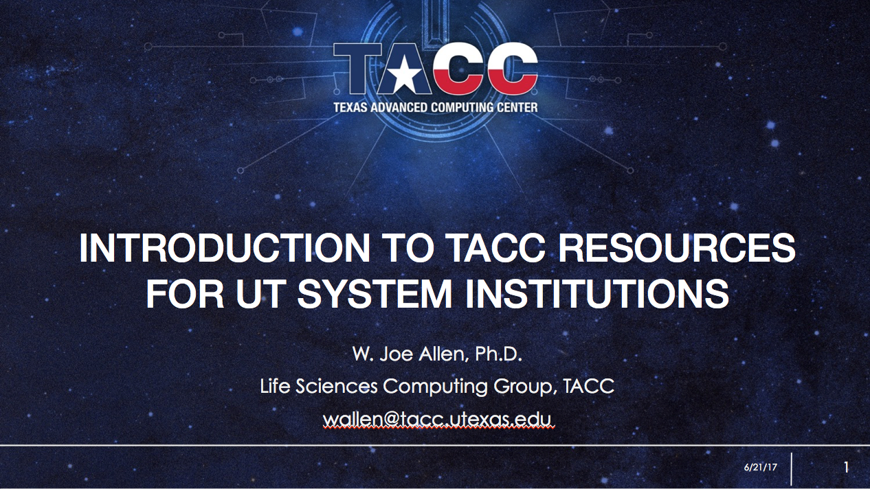 Link to Intro to UTRC Webinar Powerpoint