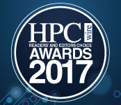 HPCwire Awards Logo on technical banner
