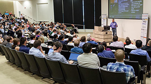 TACC's Niall Gaffney Speaks at Rice Data Center Science Conference