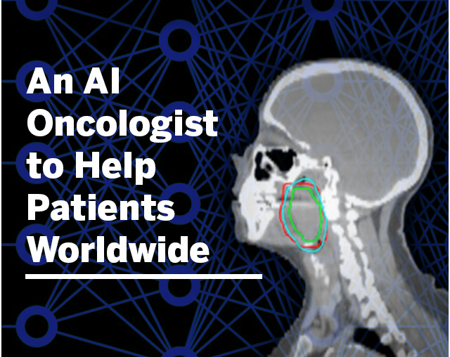 AN AI ONCOLOGIST TO HELP CANCER PATIENTS WORLDWIDE