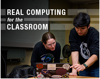 Real Computing for the Classroom