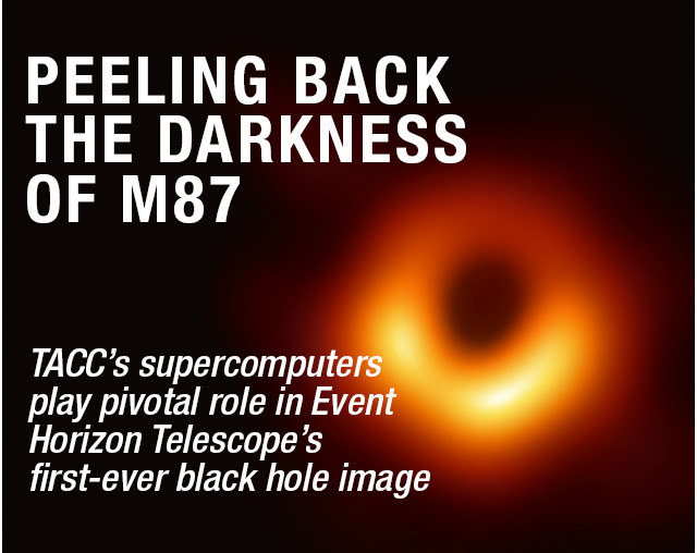 PEELING BACK THE DARKNESS OF M87