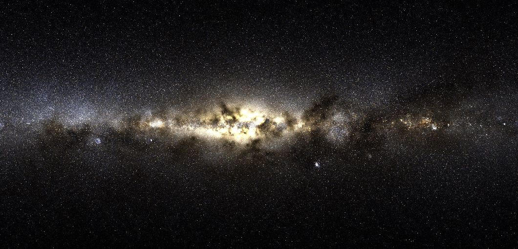 New Collection of Stars Found in the Milky Way but Not Born in the Milky Way
